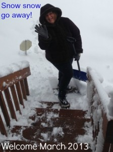 Angie 2013 snow