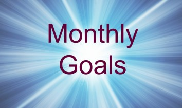 Monthly Goals