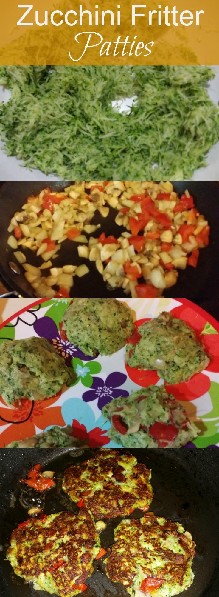 Zucchini Fritter Patties Recipe