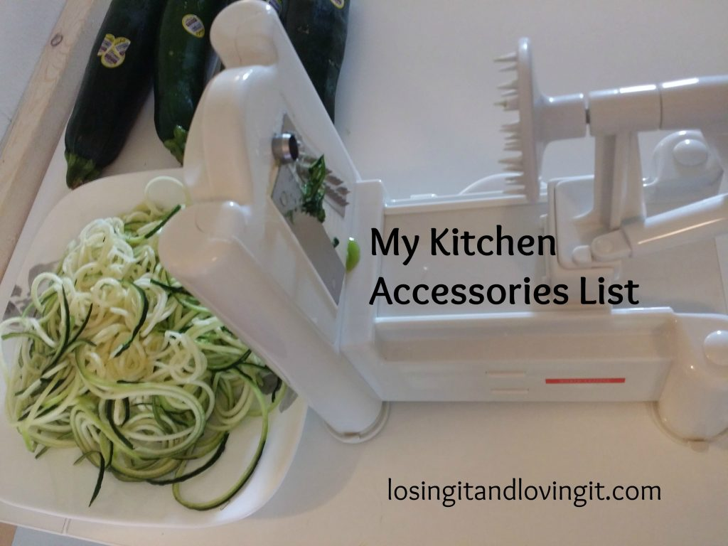 Angie's Kitchen Accessories List