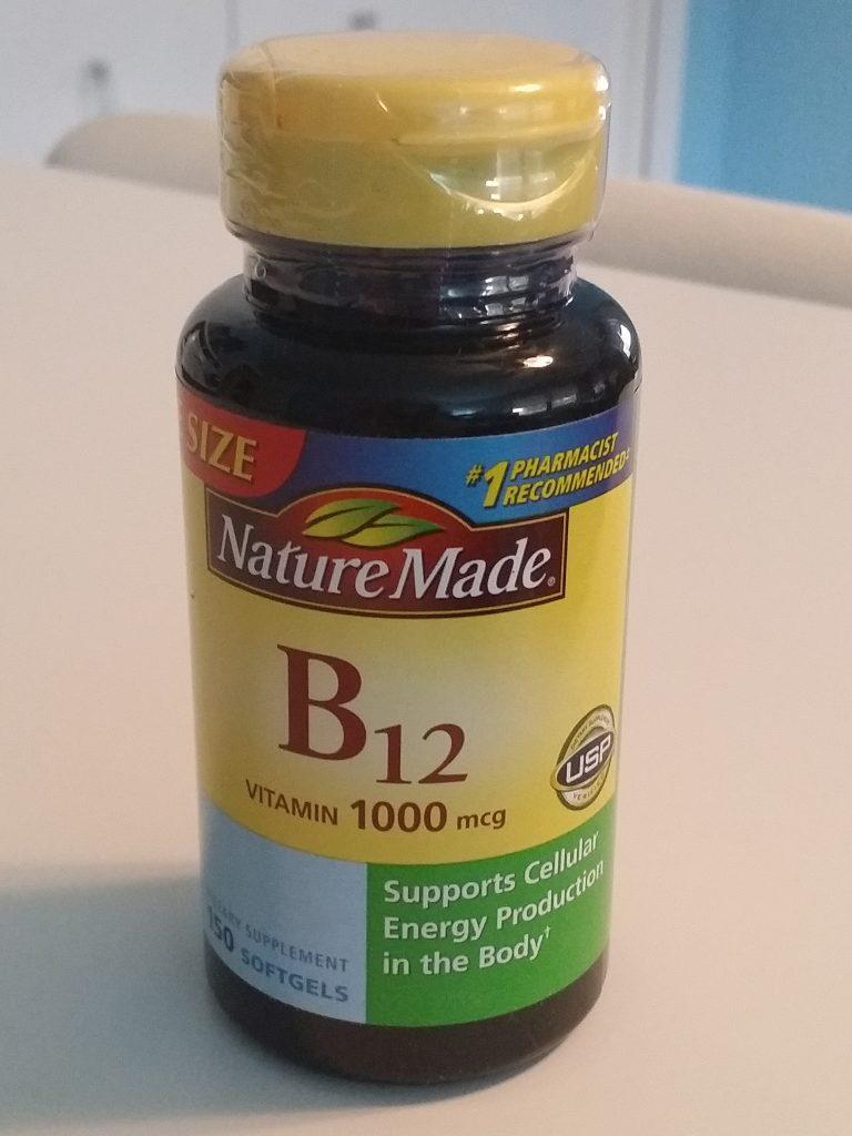 Nature Made B-12 Softgels