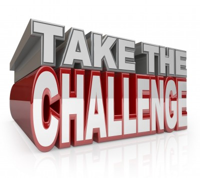 Will you take the challenge?