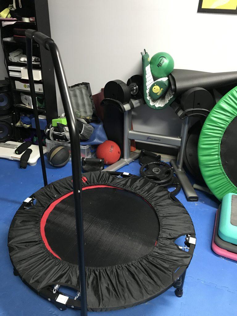 Mini Trampoline Exercise Rebounder