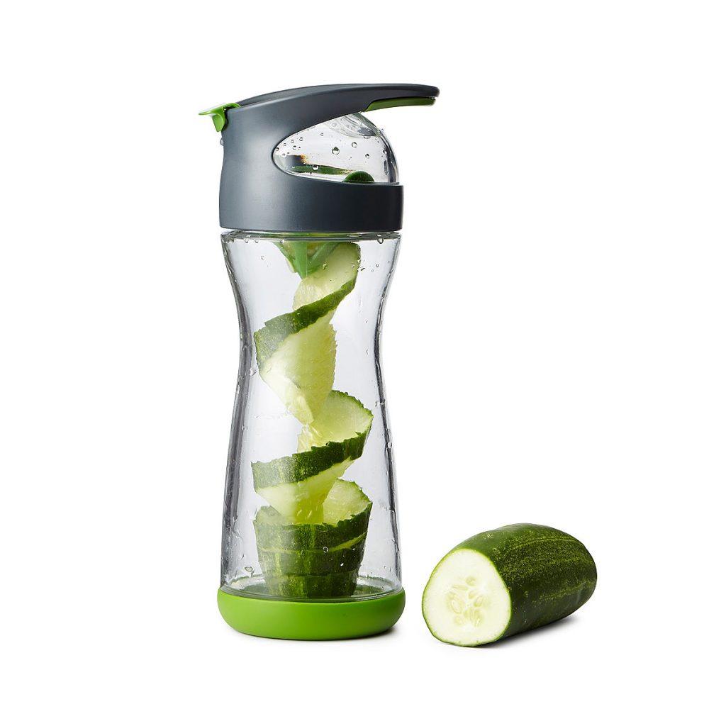 Cucumber Infuser Water Bottle