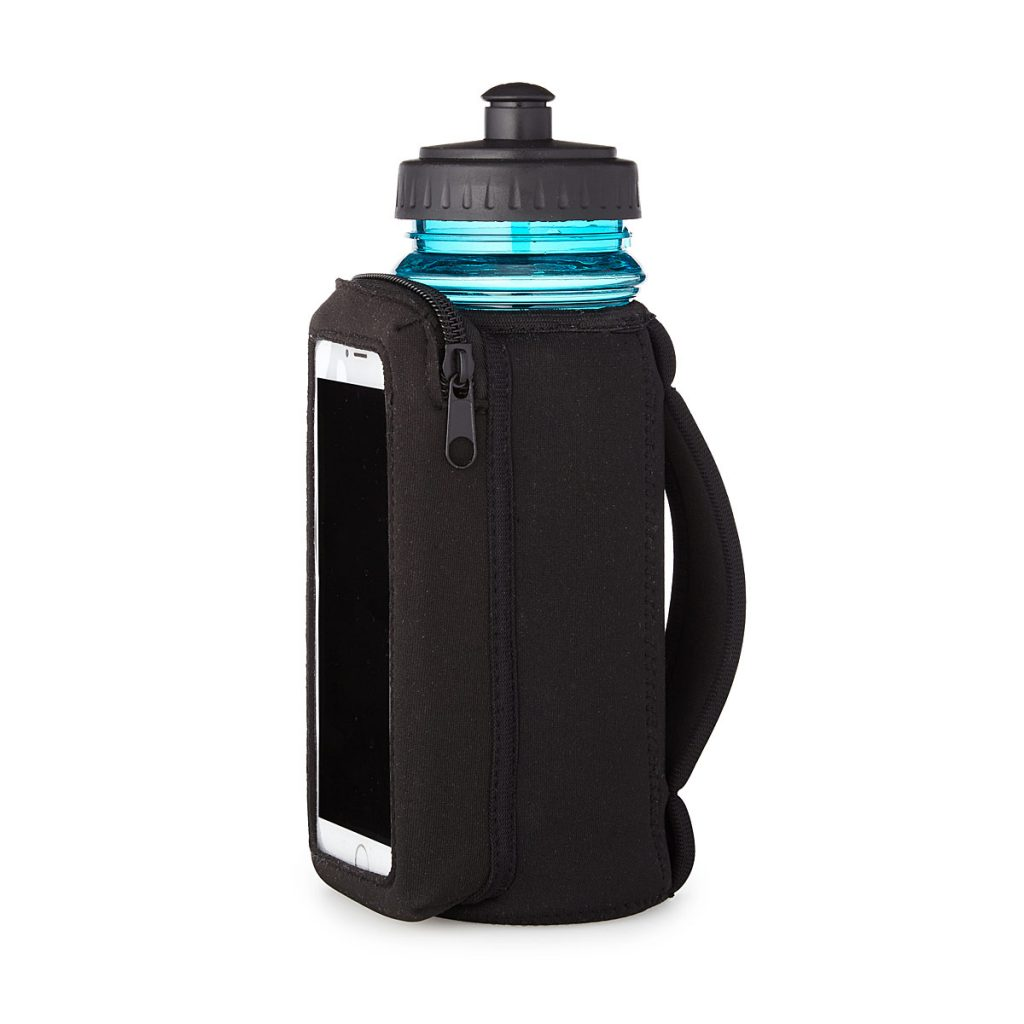 Fitness Bottle with Phone Sleeve