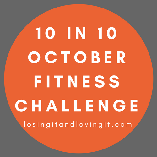 10 in 10 October Fitness Challenge