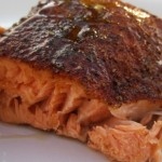 Grilled Salmon on Planks