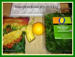 Get Well Green Smoothie Ingredients