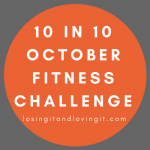 10 in 10 October Fitness Challenge
