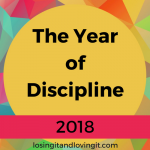 2018: The Year of Discipline